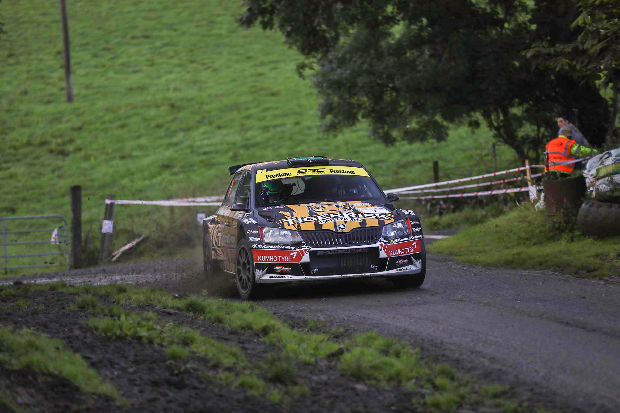 Marty Masters The Ulster Rally Kumho Tyres